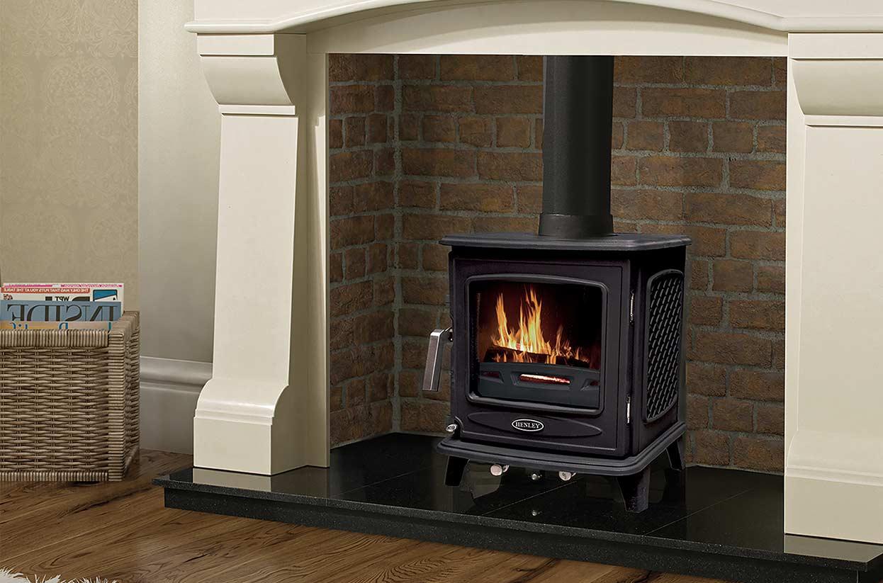 The Ascot multi-fuel stove