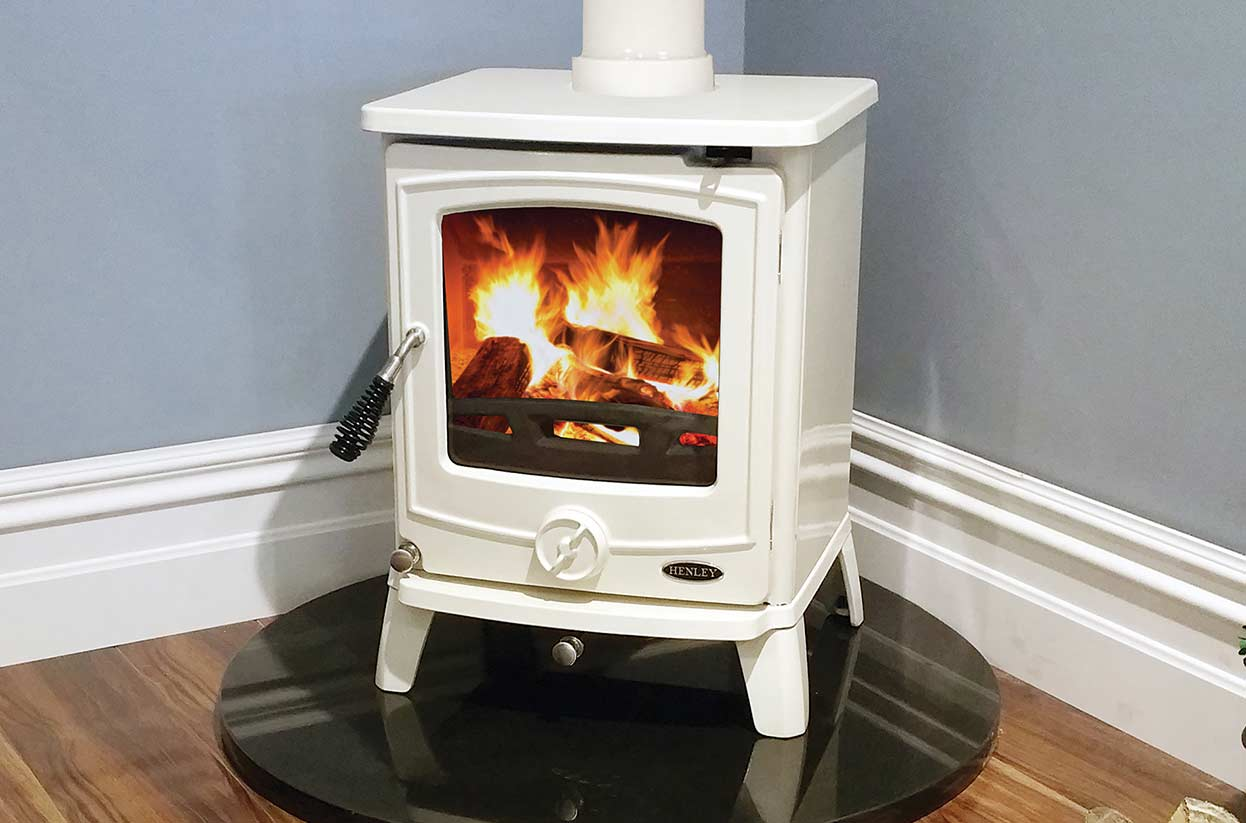 The Cambridge multi fuel Henley Stove