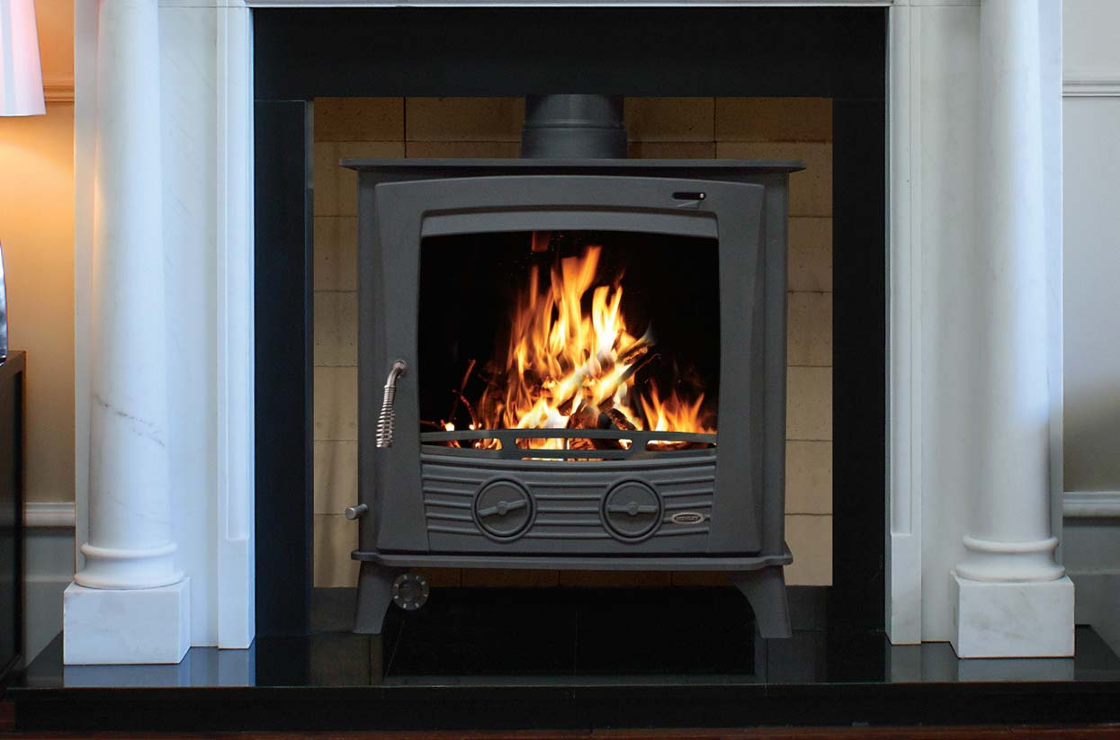 The Druid 12kW – 25kW Multi Fuel boiler stoves